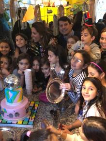 celebrating a beloved friend's birthday