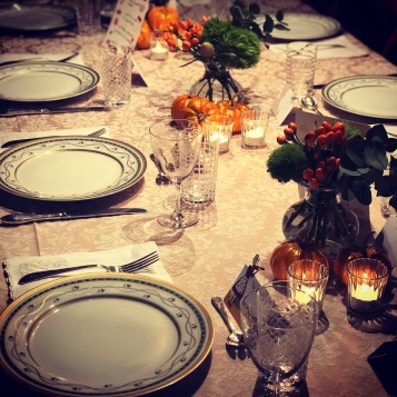 this year's thanksgiving table