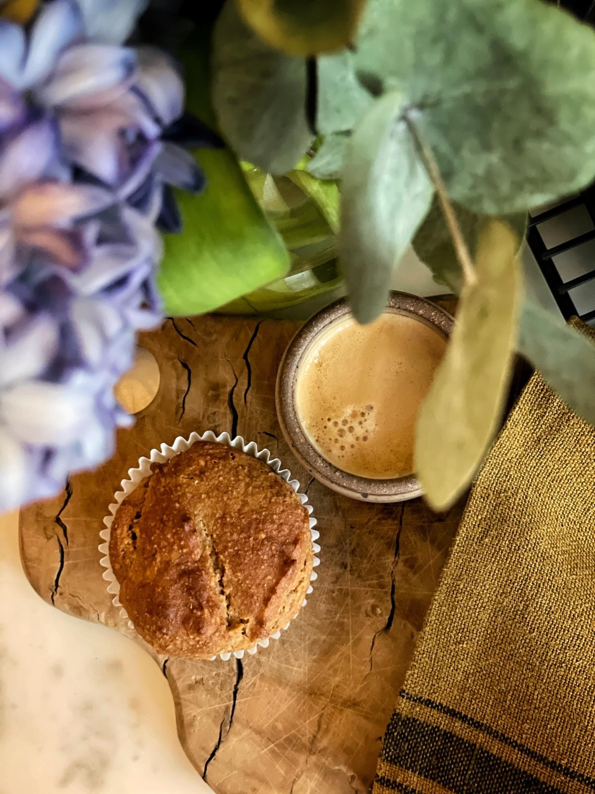 sunday muffins- gluten free and veganbanana…
