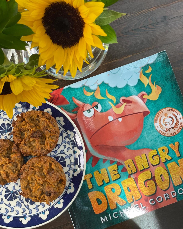 sunday muffins…gluten free and vegan carrotraisin…