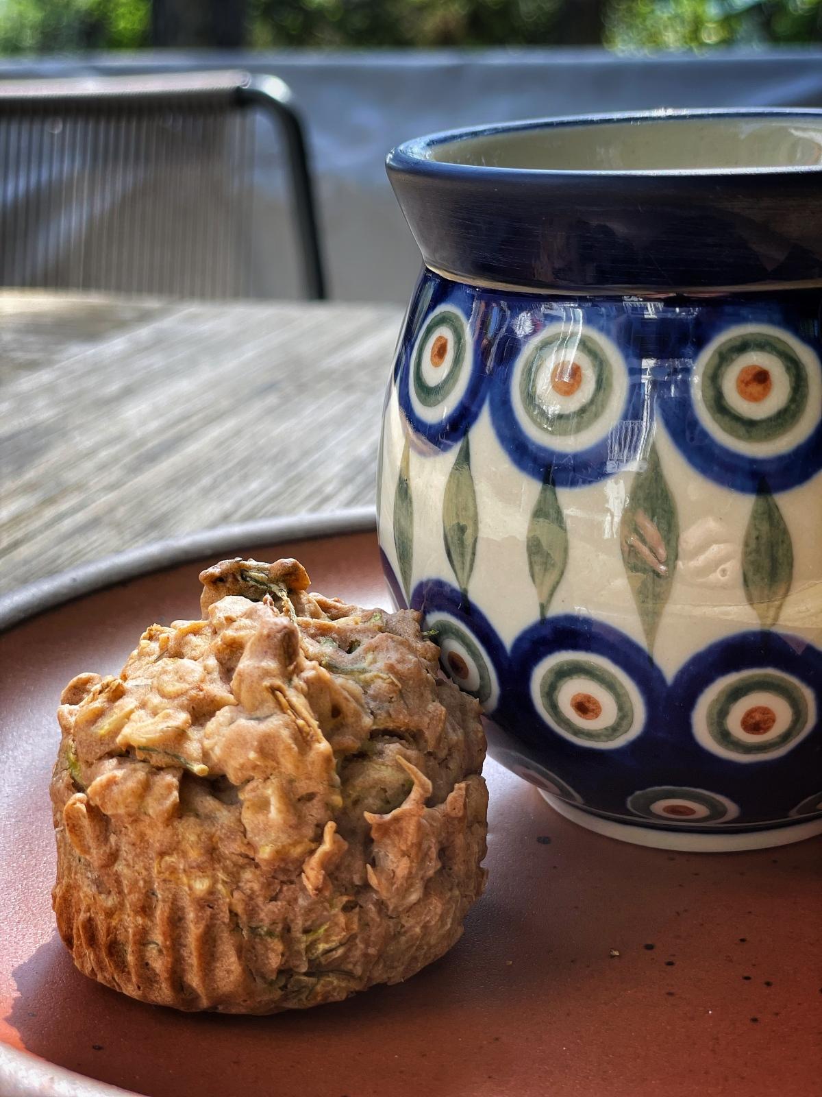 sunday muffins… vegan and gluten free zucchinidill…